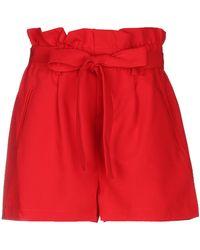 Odi Et Amo Shorts - Red