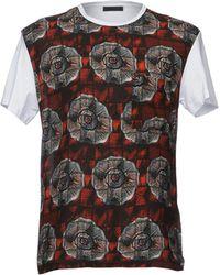 Alessandro Dell'acqua - T-shirt - Lyst
