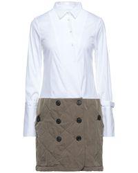 Sara Roka Short Dress - White