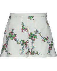 Giamba Shorts & Bermuda Shorts - White