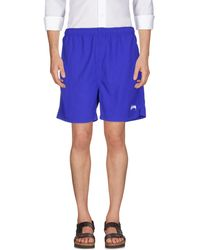 Stussy Beach Shorts And Pants - Blue