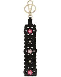 Furla Key Ring - Black