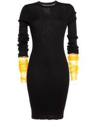 Maison Margiela Midi Dress - Black