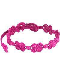 Cruciani Bracelet - Purple