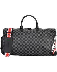 Sprayground Travel Duffel Bags - Grey