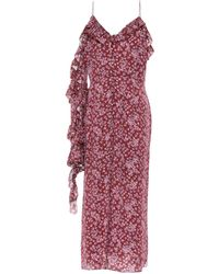 Magda Butrym Midi Dress - Purple