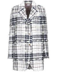Thom Browne Suit Jacket - White