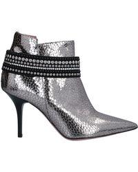 Tipe E Tacchi Ankle Boots - Metallic