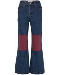 L.F.Markey Denim Trousers - Blue