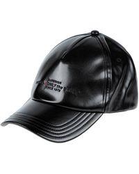 DIESEL Chapeau - Noir