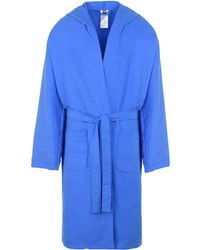 Arena Towelling Dressing Gown - Blue