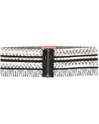 Missoni Belt - White