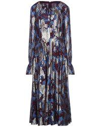 Talbot Runhof Long Dress - Blue