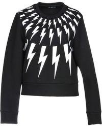Neil Barrett Sweatshirt - Black