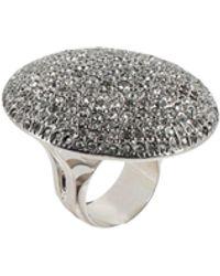 Dries Van Noten Ring - Metallic
