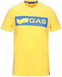 Gas T-shirt - Yellow