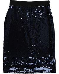 Victoria, Victoria Beckham Midi Skirt - Blue
