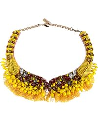 Rada' Necklace - Yellow