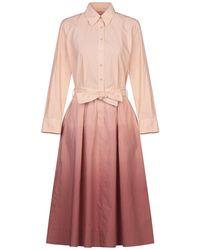 Le Sarte Pettegole - 3/4 Length Dress - Lyst