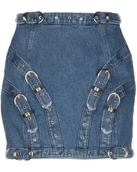 Versace Jeans Couture Denim Skirt - Blue