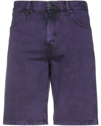 Wrangler Denim Bermudas - Purple