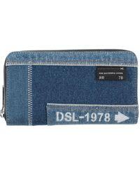 DIESEL Wallet - Blue