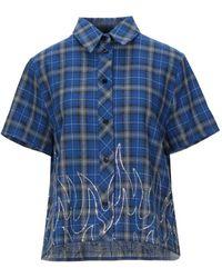 Filles A Papa Camisa - Azul