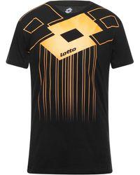 Lotto Leggenda Camiseta - Negro