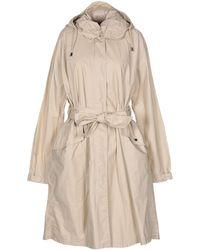 Emporio Armani Overcoat - Natural