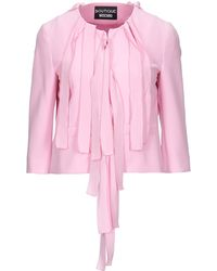 Boutique Moschino Suit Jacket - Pink