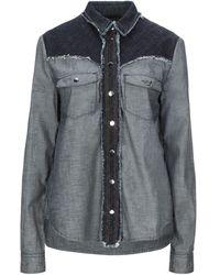 Emporio Armani - Camicia jeans - Lyst
