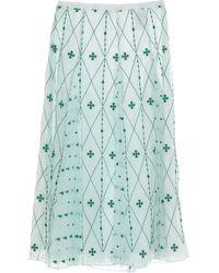 Sandro 3/4 Length Skirt - Green