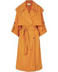 ARJE Overcoat - Orange