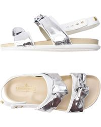Lemon Jelly Sandals - White