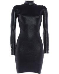 Versace Jeans Couture Robe courte - Noir