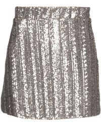 Souvenir Clubbing Mini Skirt - Metallic