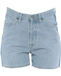 TRUE NYC - Denim Shorts - Lyst