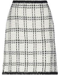 Tory Burch Knee Length Skirt - White