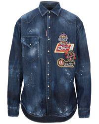 DSquared² Camicia jeans - Blu
