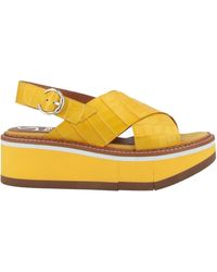 Kanna Sandals - Yellow