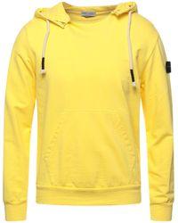 Daniele Alessandrini Homme Sweatshirt - Yellow