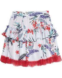 No Secrets Mini Skirt - Blue