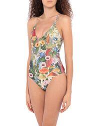 Carolina K One-piece Swimsuit - Green