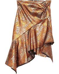 Peter Pilotto Mini Skirt - Brown