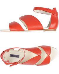 Emanuel Ungaro Sandals - Red