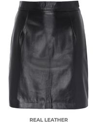 8 by YOOX Mini Skirt - Black