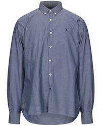 Jaggy Shirt - Blue