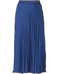 Massimo Rebecchi Midi Skirt - Blue