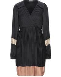 Marella Short Dress - Black
