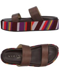 Vicini Tapeet Sandals - Brown